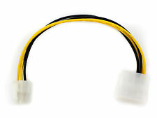 Nuevo Offer  2-pin Molex IDE to 4-Pin ATX P4 12V ATX Connector Cable