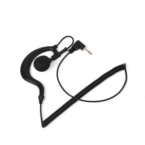 3.5MM Listen Only D Shape Earpiece Earhook For Motorola RLN4941A HT750 HT1250