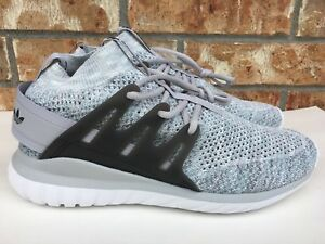 ca59dc9c81c9 Men s Adidas Originals Tubular Nova PK Primeknit Glow in the Grey Sz ...