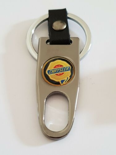 CHRYSLER GREY Keyring Keychain Spanner Chrome 4 colours Ideal Extra Voyager 300