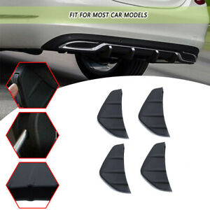 Universal Auto SUV Heckstoßstange Diffusor Moulding Shark Fin Spoiler Schutzfoli