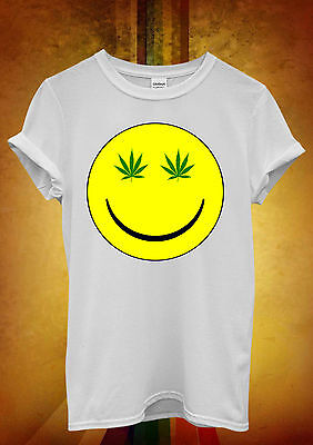 Good Vibes Weed Cannabis Drug  Men Women Vest Tank Top Unisex T Shirt 1174