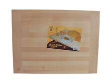 SPIANATOIA ASSE PER IMPASTARE PASTA FRESCA IN LEGNO MASSELLO 80x55 cm