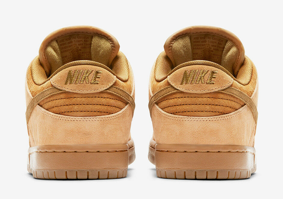 Nike MEN'S SB Dunk Low TRD QS REVERSE WHEAT WHEAT WHEAT SIZE 11.5 BRAND NEW REESE FORBES 441545