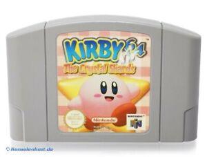 N64-Nintendo-64-juego-Kirby-64-the-Crystal-Shards-modulo
