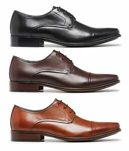 JULIUS-MARLOW-MEN-039-S-KNOCK-FORMAL-FORMAL-DRESS-WORK-CASUAL-LEATHER-LACE-UP-SHOE
