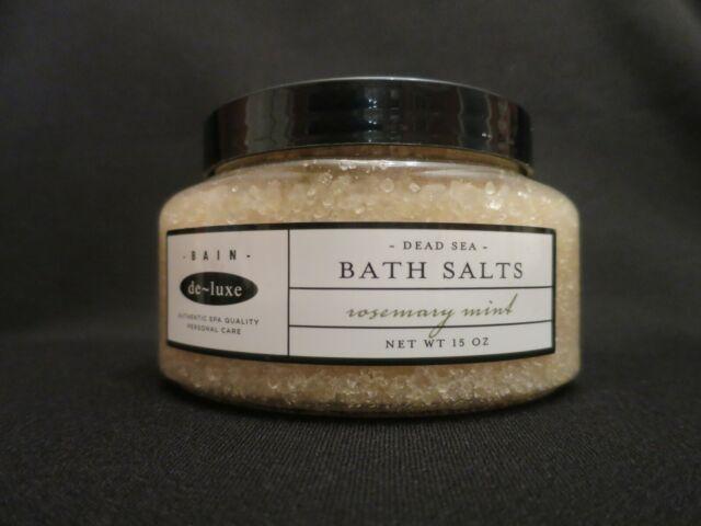 De-luxe Bain Dead Sea Bath Salts Rosemary MINT 15 Oz for sale online ...