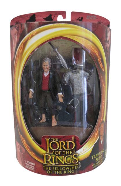 LOTR Trilogy FOTR 111th Birthday Celebration Bilbo Action Figure New Toybiz