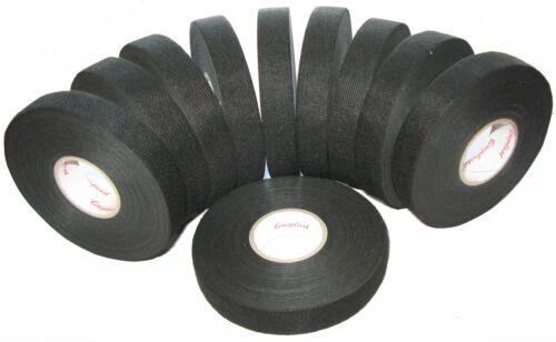 10x Coroplast kfz Gewebeband mit Vlies 8550 19mm x 25m Klebeband Tape MwSt neu