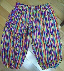 Loud, Crazy & Wild Golf Knickers Pants Multi Colored ...
