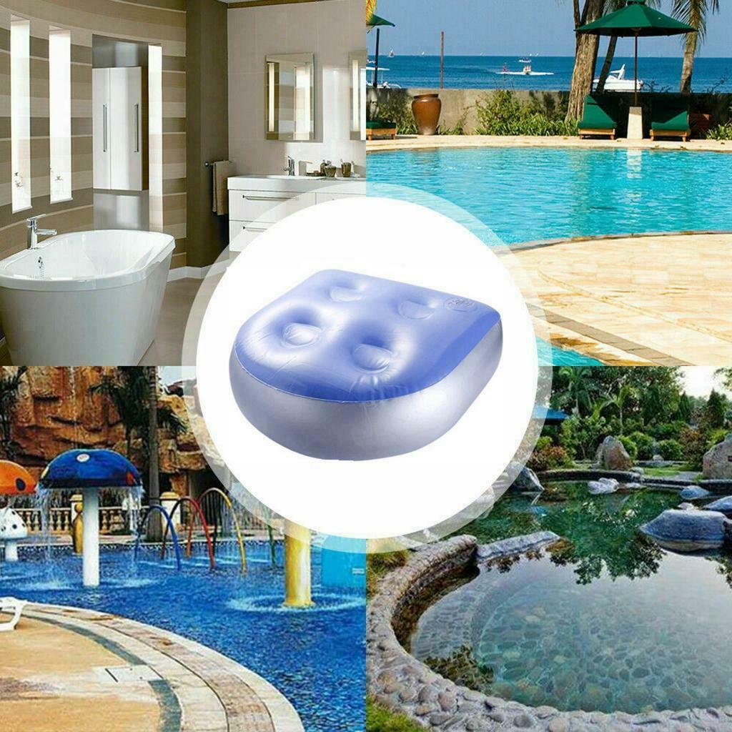 Inflatable Seat Spa Hot Tub Spas Cushion Booster with Suction Cups for Adults