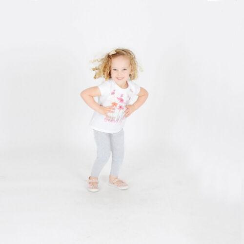Girls Kids Childrens Cotton Leggings Full Length Age 2 3 4 5 6 7 8 9 10 11 12 13