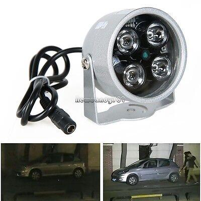 4LED illuminator light IR Infrared Night Vision +Power Supply for CCTV Camera