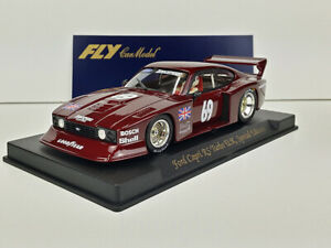 Slot-Car-Scalextric-FLY-E141-Ford-Capri-RS-Turbo-N-69-U-K-Special-Edition