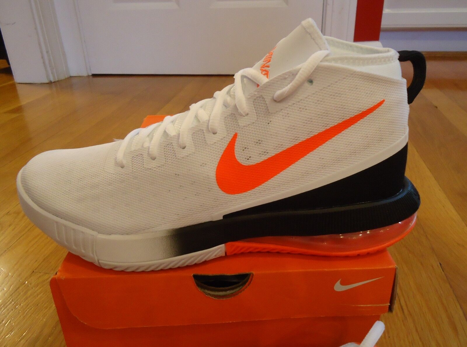 nouvelles chaussures nike air air air max pour hommes blancs dominent cramoisi taille 9 msrp 120 74eb48