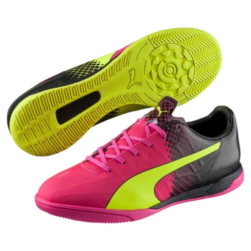Cleats 103595-01 $70 Retail Puma EvoSpeed 4.5 IT Tricks Indoor Soccer Shoes