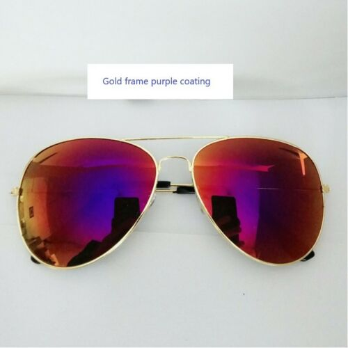Colorful Coating Film Sunglasses Driving HD Glasses Anti-Glaring Eye Goggle