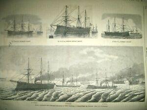 MAROC-LES-PIRATES-DU-RIFF-INDUSTRIE-PARFUMERIE-PIVER-CUIRASSeS-GRAVURES-1863