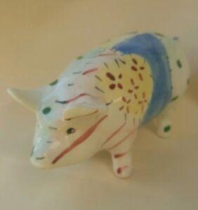 Vintage Devon Ceramics Ltd Torquay Large Collectable Pottery Pig Hand Made Ebay