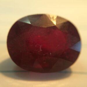 1.62 cts Natural Burma Ruby Loose Gemstone Oval Cut