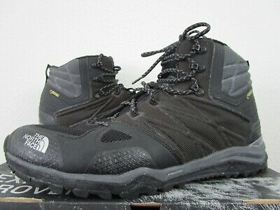 Mens 12 TNF The North Face Ultra Fastpack II Mid GTX Gore Tex Hiking Boots Black