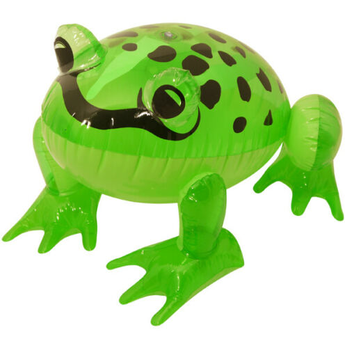 Inflatable Green Frog 39cm Blow Up Toy Fancy Dress Hen Stag Party Decorations UK