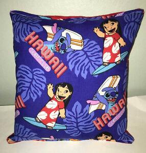 Lilo-amp-Stitch-Pillow-Hawaii-Pillow-Handmade-In-USA-Disney-Lilo-And-Stitch