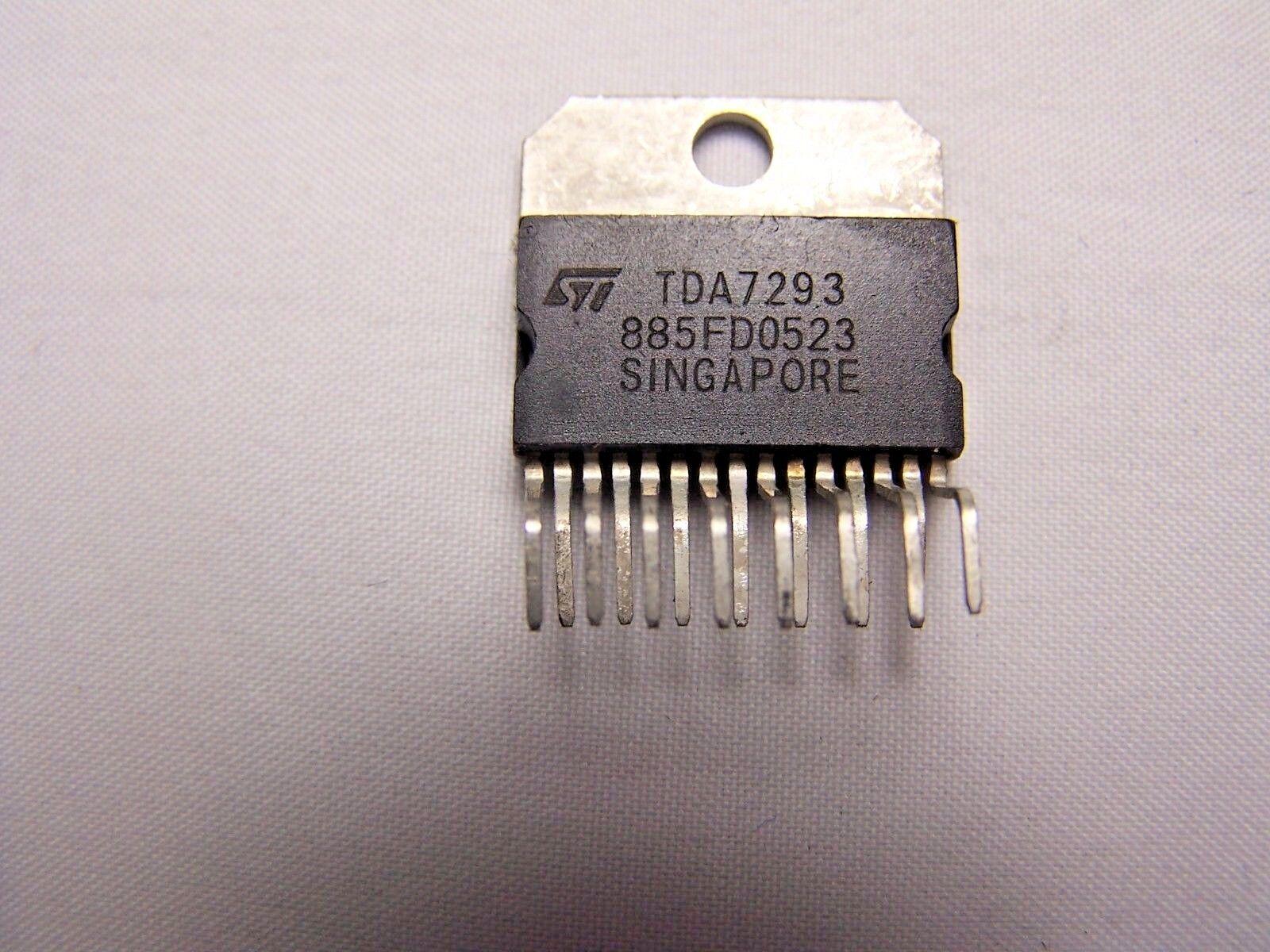 Tda7293 120v 100w Dmos Audio Amplifier With Mute St Ecg 186 Ebay Class B 15w By Ne5532 Transistor Norton Secured Powered Verisign