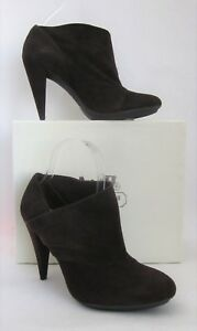 Coach Astrid Brown Suede Ankle Bootie