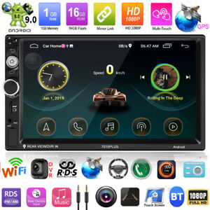 7-034-2din-Android-9-0-Autoradio-lettore-mp5-FM-RADIO-GPS-WIFI-BLUETOOTH-FM-RDS-AM