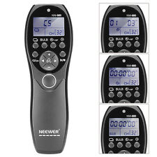 Neewer LCD Display Shutter Release Wired Timer Remote Control NW-880/N3 f 1D 6D