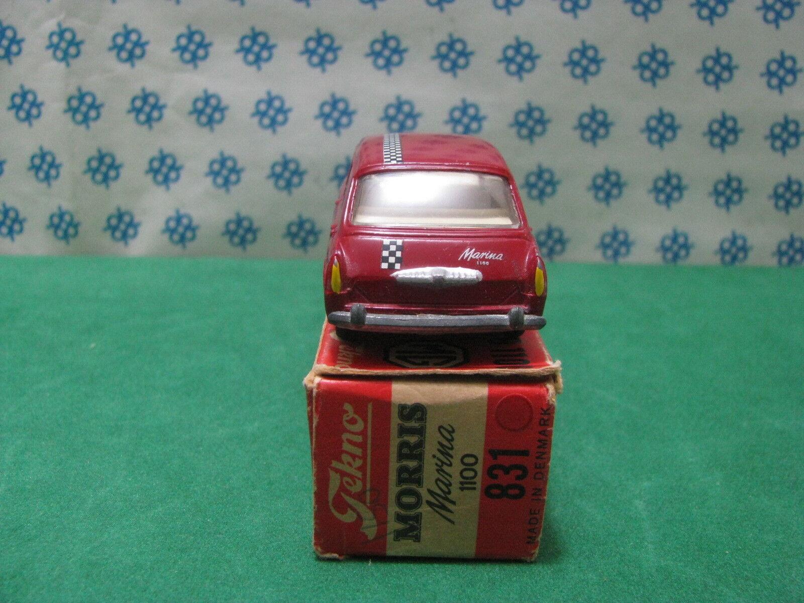 Vintage TEKNO TEKNO TEKNO 831  -  MORRIS  MARINA 1100  - Denmark   Superbe/ MIB 3b6fff