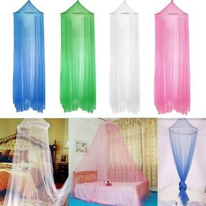 Elegant Round Lace Insect Bed Canopy Netting Curtain Dome Mosquito Net Home USA