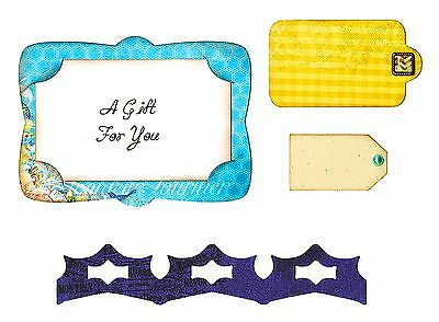 Sizzix Framelits Gift Card Holder #658790 Retail $19.99 Retired, A MUST HAVE!