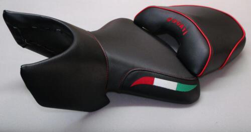 Sitzbezug Neuer Sitzbankbezug für Ducati 04-09 Multistrada DS 1000 1100 620 Logo