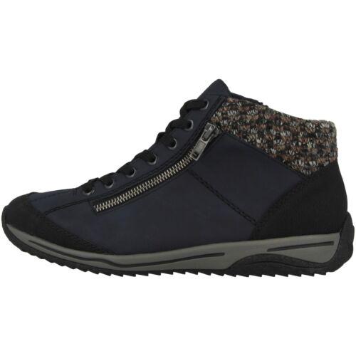 Rieker leeds Zapatos señora anti estrés Boots schnürschuhe mid cut cortos l5223