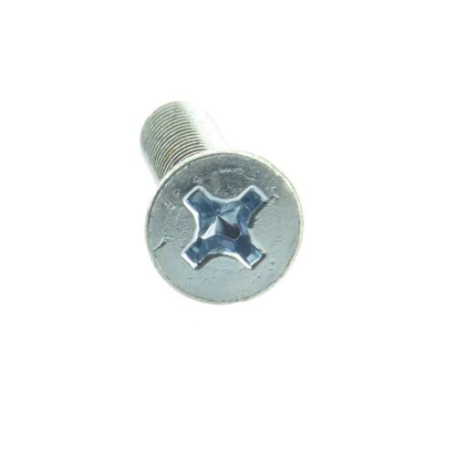 Senkschrauben mit PH DIN 965 4.8 Stahl galv verz M 6 M 5