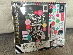 NEW Mambi Me /& My Big Ideas Create 365 Happy Planner Undated Box Kit 12 Month