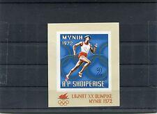 Albania 1971 BF 42 giochi olimpici estivi   MNH