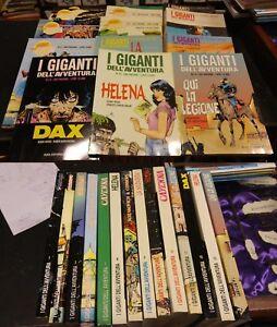 I-Giganti-dell-039-Avventura-lotto-1-14-Eura-Editoriale-Dax-Helena-condizioni-buone