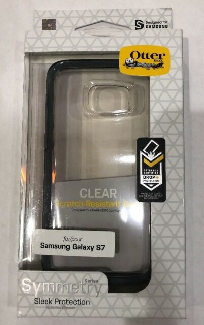 new product b9cf5 ede64 OTTERBOX Symmetry Clear Series Case for Samsung Galaxy S7 Tempest Crystal