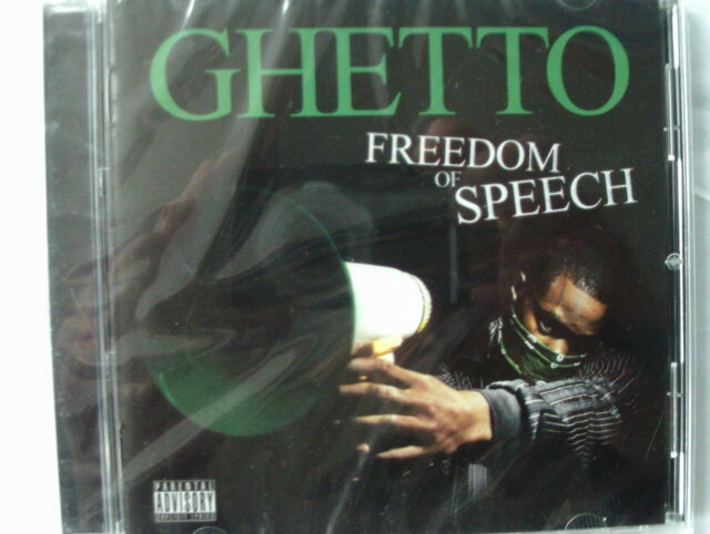GHETTO FREEDOM OF SPEECH CD NEW SEALED 2008 ISSUE FREE UK SIGNED POST
