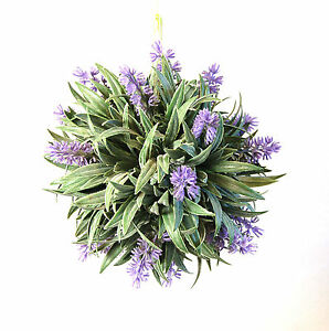 Kuenstlich-Wandbehang-Lavendel-Pommander-Kugel-20-Cm