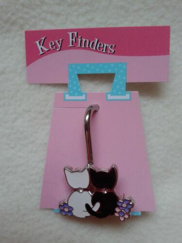 NUOVO, chiave/telefono finder, portachiavi Charm, Gatti, chiavi, borsa, telefono, Stocking Filler, regalo.