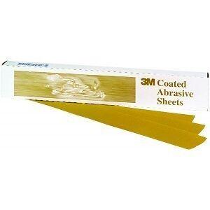 3M™ 02569 Gold File Sheet 150 grade 2569 2 3//4 inch x 17 1//2 inch