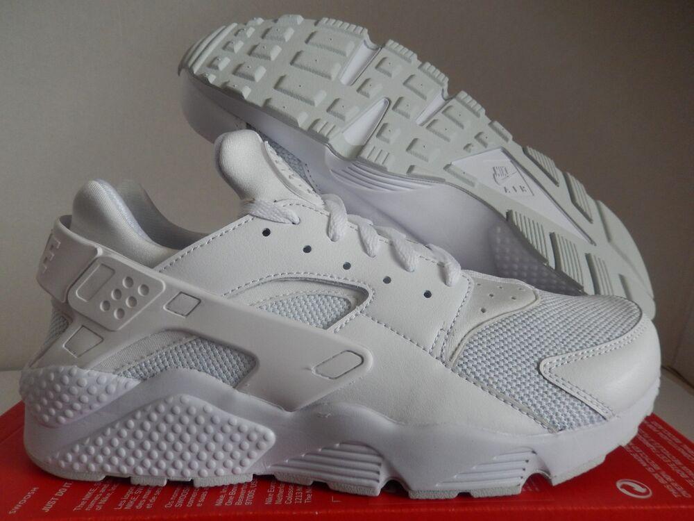 NIKE AIR HUARACHE BLANC-PURE PLATINUM-Blanc Homme  Chaussures de sport pour hommes et femmes