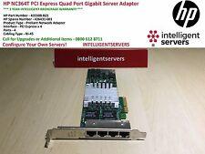 HP NC364T PCI Express Quad Port Gigabit Server Adapter High Profile 435508-B21