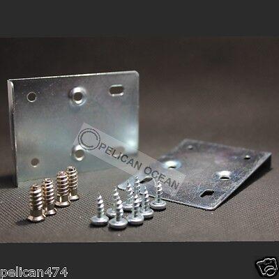 2x Hinge door kitchen 100mm 200mm 300mm 400mm 500mm 600mm cupboard cabinet frame