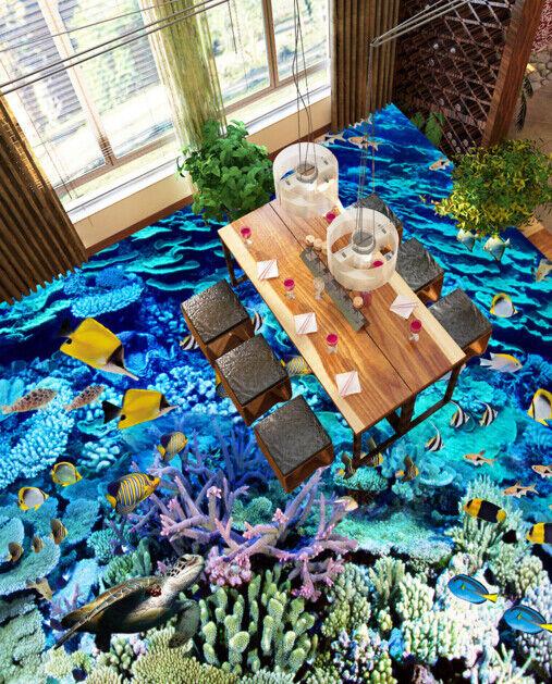 3D Koralle Meer 437 Fototapeten Wandbild Fototapete Tapete Familie DE Lemon