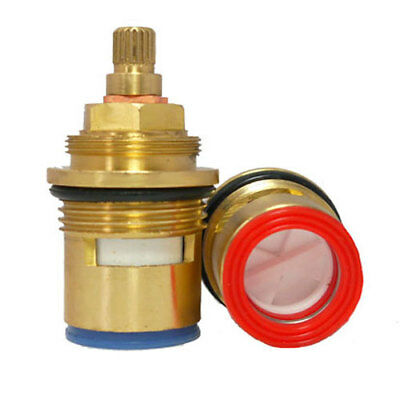 Supplied With Brass Screw Replacement Bath Clockwise Tap Valve Quarter Turn Ceramic 3//4 57mm 20 by Tap Magician